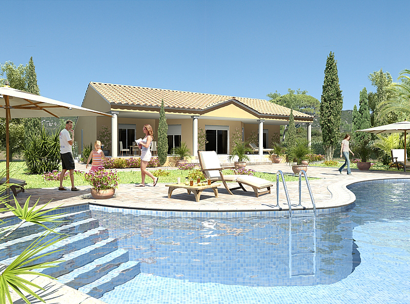 Villa plan modifiable sur mesure